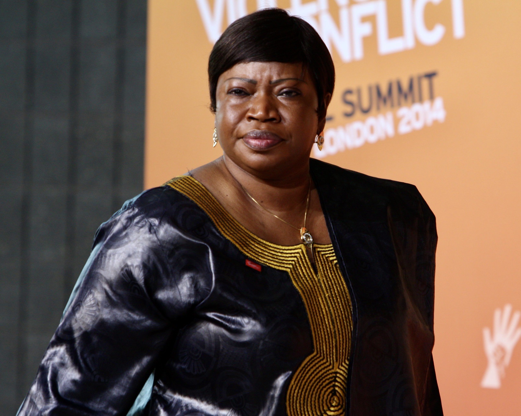 Gambian lawyer Fatou Bensouda, the International Criminal Court chief prosecutor (AN/U.K. FCDO)