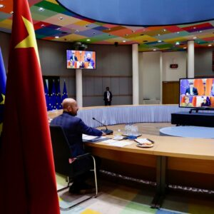 E.U. and China reach pact on business investment