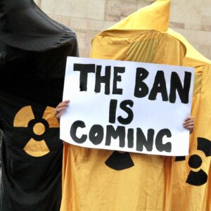 Nuclear weapons ban enters into force