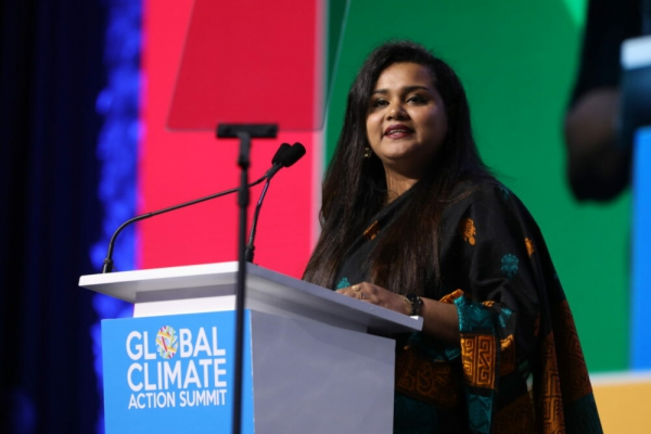 Youth at U.N. demand bold climate action