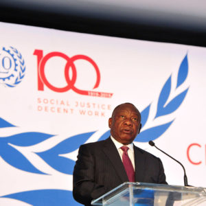 ILO marks past with look to future work