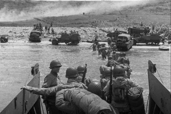D-Day honors debt to a 'heritage of peace'