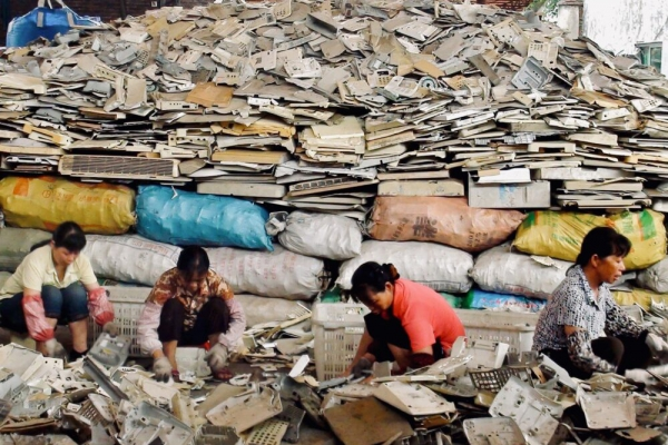 Global e-waste increases by 21% in 5 years