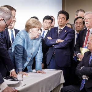 Trump tensions make for G-7 minus one