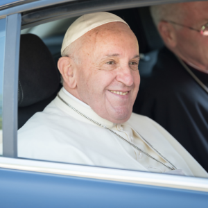 Pope's visit spotlights church organization