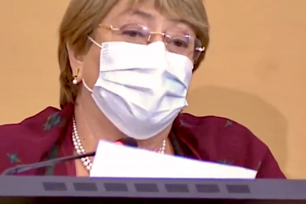U.N. rights chief censures virus-fueled hotspots