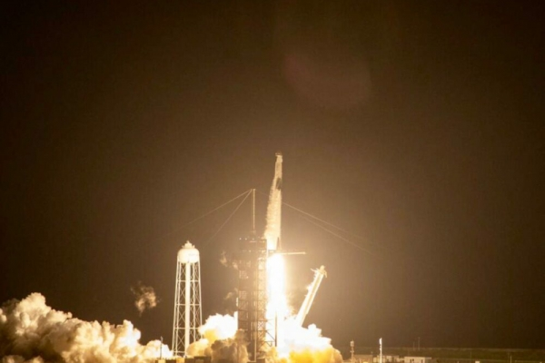 NASA launch to Space Station signals new era