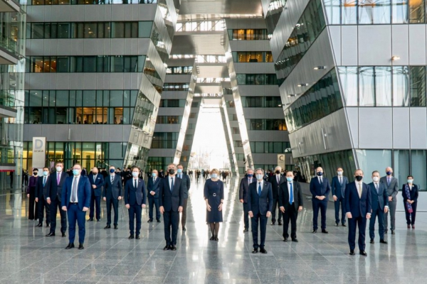 NATO ministers agree to climate strategy shift
