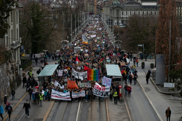 Students demand climate action worldwide